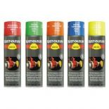 Rustoleum 2200 Hard Hat Flourescent Aerosol various colours 500ml